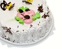 _poner crema torta Imágenes de archivo libres de regalías