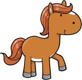 Poney mignon de cheval Photo libre de droits