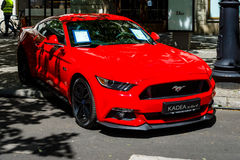 Poneyauto Ford Mustang GT, 2016 Royalty-vrije Stock Afbeelding
