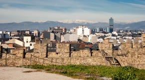 После 800 лет, Ponferrada стоковое изображение