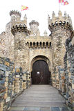 Ponferrada castle Stock Images