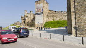 Ponferrada castle, Leon province, Spain, Royalty Free Stock Photography