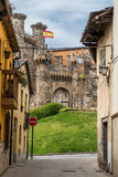 Ponferrada Castle Stock Photo