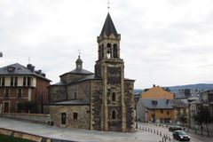 Ponferrada church Royalty Free Stock Photo