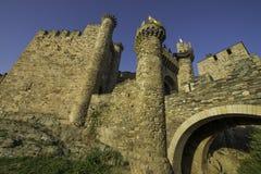 Ponferrada, Leon-provincie, Spanje royalty-vrije stock afbeelding