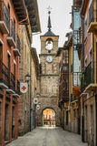Ponferrada miasta widok Obraz Royalty Free