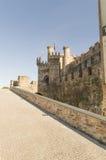 Ponferrada Templar castle, Leon, Camino de Santiago Royalty Free Stock Image