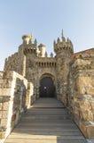 Ponferrada Templar castle, Leon, Camino de Santiago Stock Image