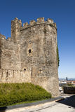Ponferrada templar castle tower. Royalty Free Stock Photography