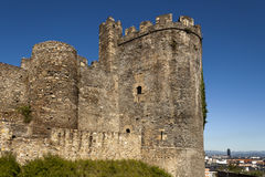 Ponferrada templar castle tower. Stock Photography