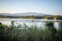 Pong Chor Reservoir en Mae Wang National Park fotos de archivo libres de regalías