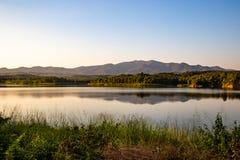 Pong Chor Reservoir en Mae Wang National Park imágenes de archivo libres de regalías