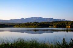 Pong Chor Reservoir en Mae Wang National Park foto de archivo libre de regalías