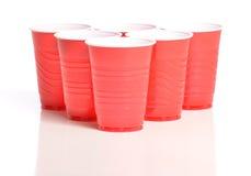 Pong Cups Fotografie Stock