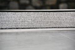 Pong di rumore metallico - rete di ping-pong Immagini Stock Libere da Diritti