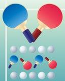 Pong do sibilo Imagem de Stock