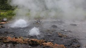 Pong Duet geyser stock footage