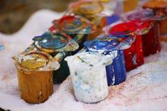 Ponga el color fotos de archivo libres de regalías