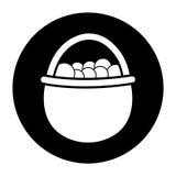 Ponga el icono para hervir un huevo Fotos de archivo