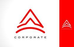 Ponga letras a un monograma Logo Design ilustración del vector
