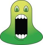 Ponga verde al monstruo Imágenes de archivo libres de regalías