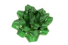 Ponga verde el arqueamiento Foto de archivo