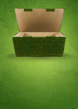 Ponga verde el empaquetado Foto de archivo libre de regalías