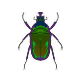 Ponga verde el fallo de funcionamiento del hedor ilustración del vector