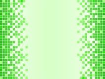Ponga verde el fondo con los pixeles stock de ilustración
