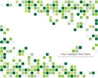 Ponga verde el fondo controlado stock de ilustración