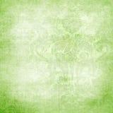 Ponga verde el fondo del victorian con el espacio para el texto o ilustración del vector