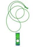 Ponga verde el lápiz labial Imágenes de archivo libres de regalías