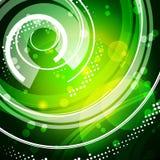Ponga verde el modelo de la tecnología libre illustration