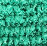 Ponga verde el paño Imagen de archivo libre de regalías