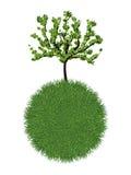 Ponga verde el planeta Foto de archivo libre de regalías
