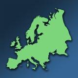 Ponga verde Europa libre illustration