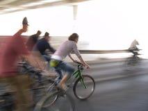Ponga verde la bici Imágenes de archivo libres de regalías