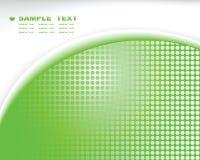 Ponga verde la composición abstracta del fondo de la tecnología libre illustration