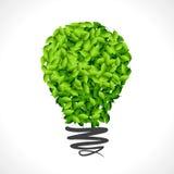 Ponga verde la idea para la tierra libre illustration