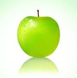 Ponga verde la manzana Fotografía de archivo libre de regalías