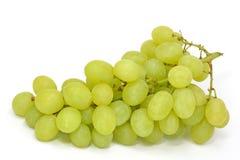 Ponga verde las uvas Fotos de archivo libres de regalías