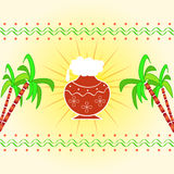Pongal - Indian festival Royalty Free Stock Images