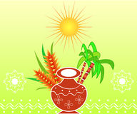 Pongal - Indian festival Royalty Free Stock Photo