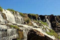 Pongour vattenfall, Vietnam Arkivfoto