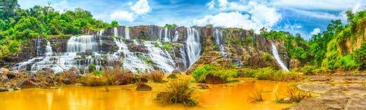 Pongour waterfall royalty free stock photo