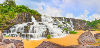 Pongour waterfall Royalty Free Stock Photos