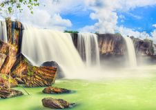 Pongour waterfall Stock Photos
