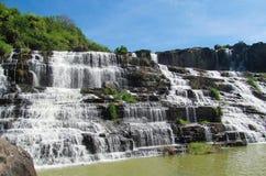 Pongour waterfall, Vietnam Stock Photo