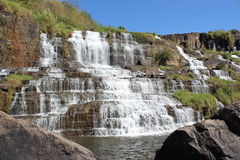 Pongour waterfall, Vietnam Royalty Free Stock Photography