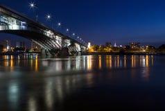 Poniatowski bridge Royalty Free Stock Image